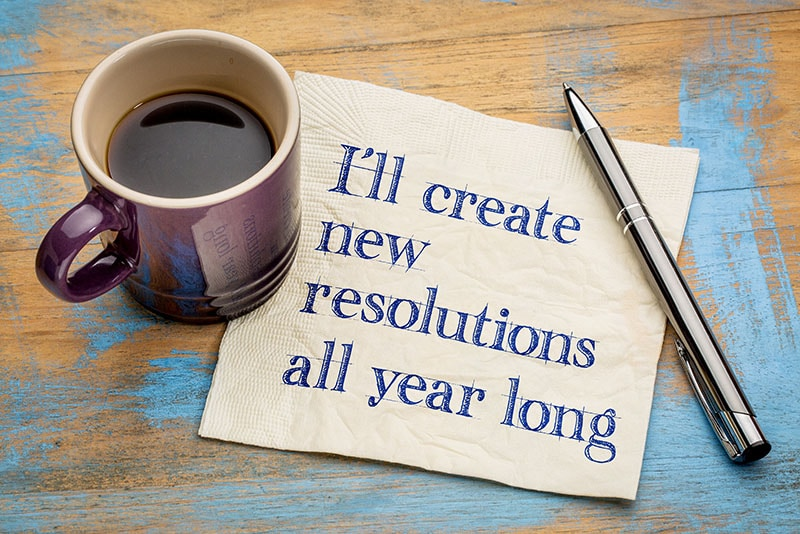 Recovery-Related New Year's Resolutions